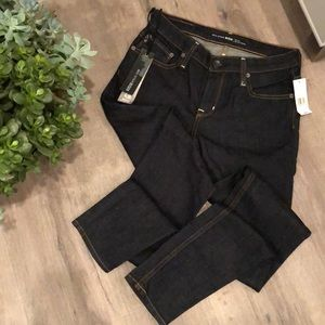 NWT dark washed jeans